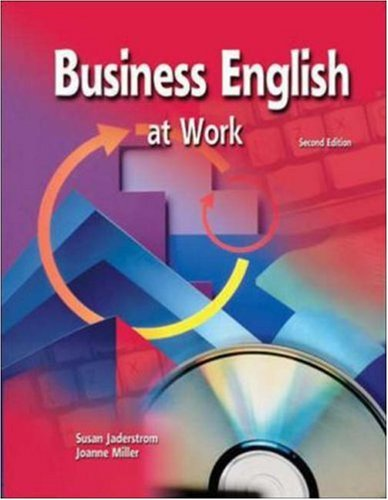 Business English at work Student's book