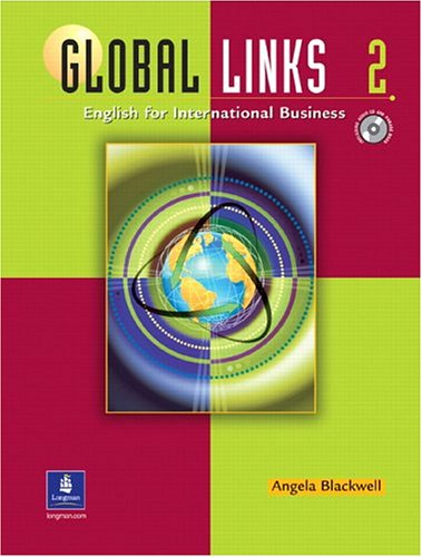 Global Links Level 2 Book with Audio CD