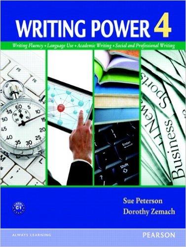 Writing Power 4 Book