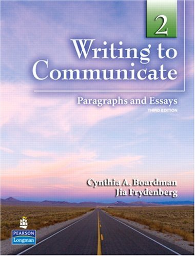 Writing to Communicate 2 Student's Book
