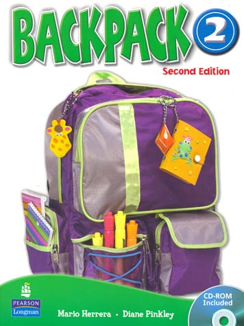 Backpack American English 2 Book + CDROM