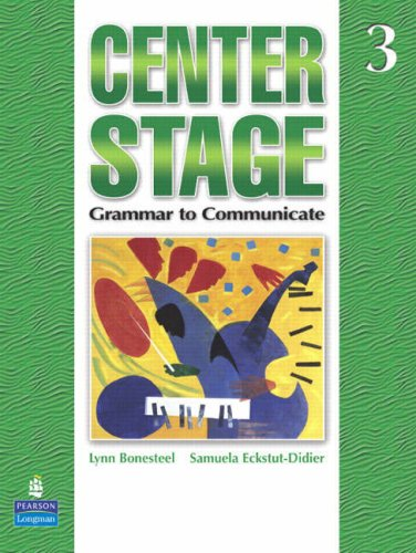 Centre Stage: Grammar to Communicate Stage 3 Student's Book