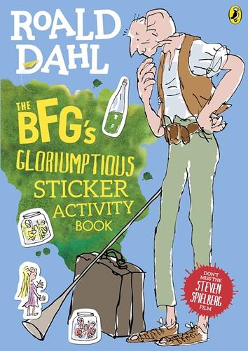 BFG's Gloriumptious Sticker Activity Book