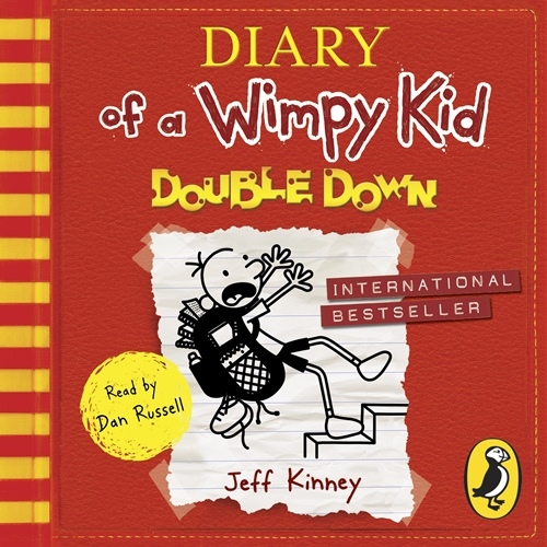 Diary of a Wimpy Kid: Double Down (unabr.) 2CD