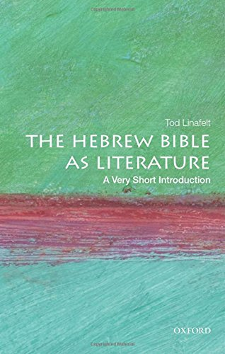 Hebrew Bible as Literature : A Very Short Introduction