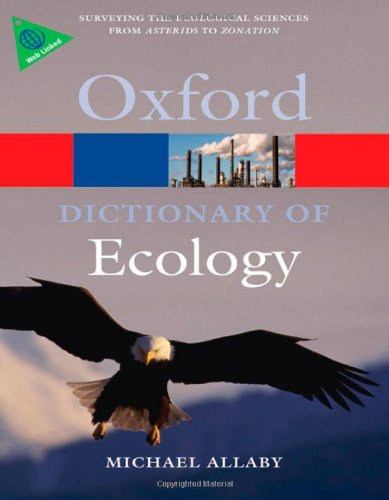 A Dictionary of Ecology  4Edition