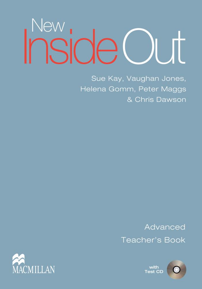 New Inside Out Advanced Teacher's Book with Test CD