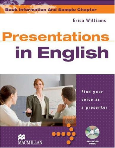 Presentations In English Student's Book with DVD Pack