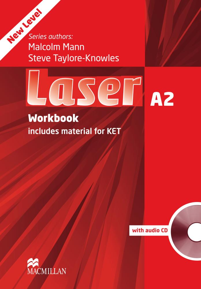 Laser 3rd Edition A2 Workbook without Key and Audio CD Pack