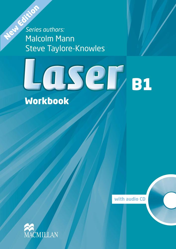 Laser 3rd Edition B1 Workbook without Key and Audio CD Pack