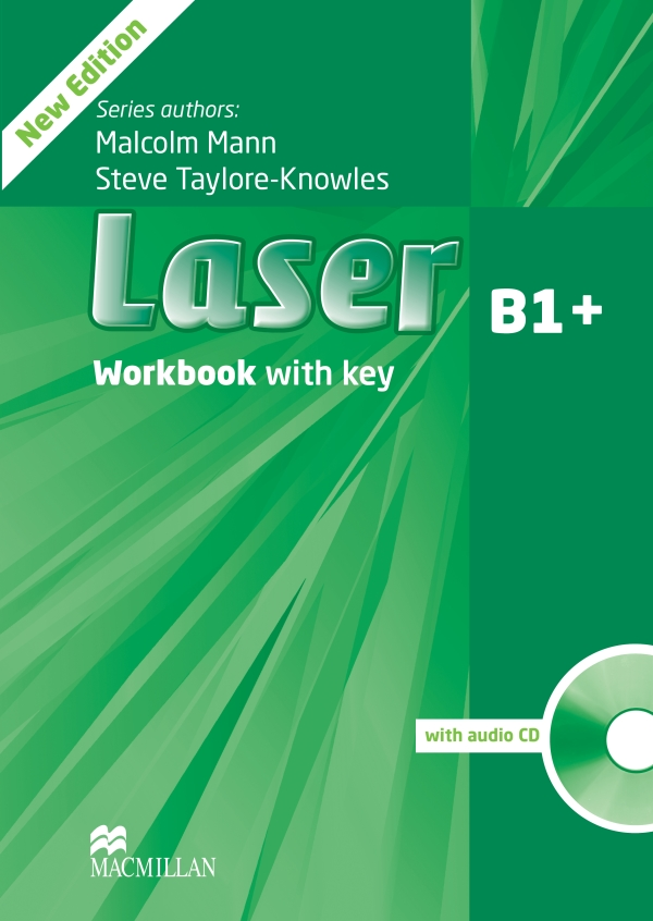 Laser 3rd Edition B1+ Workbook with Key and Audio CD Pack
