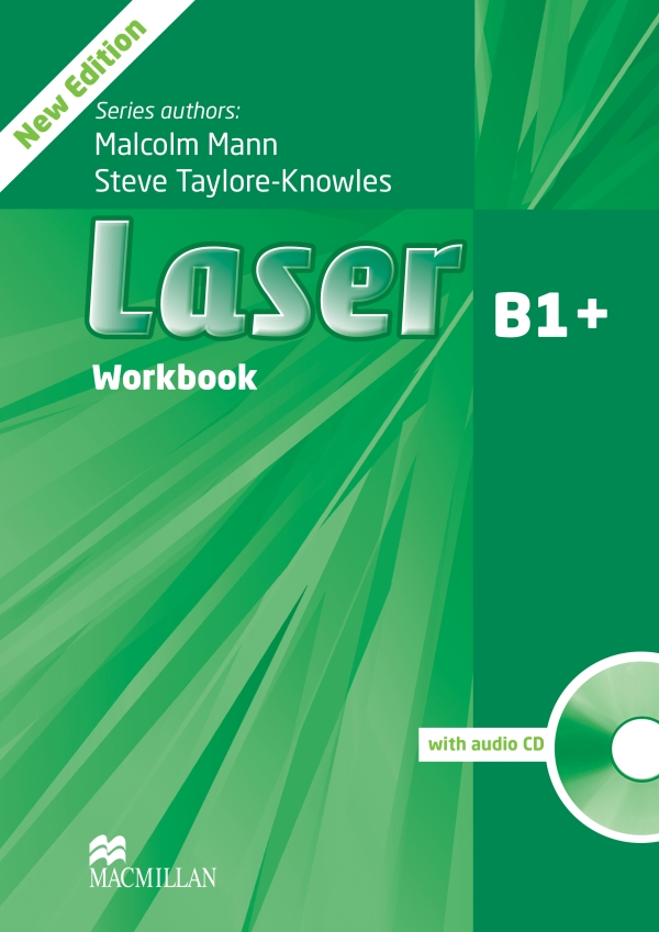 Laser 3rd Edition B1+ Workbook without Key and Audio CD Pack