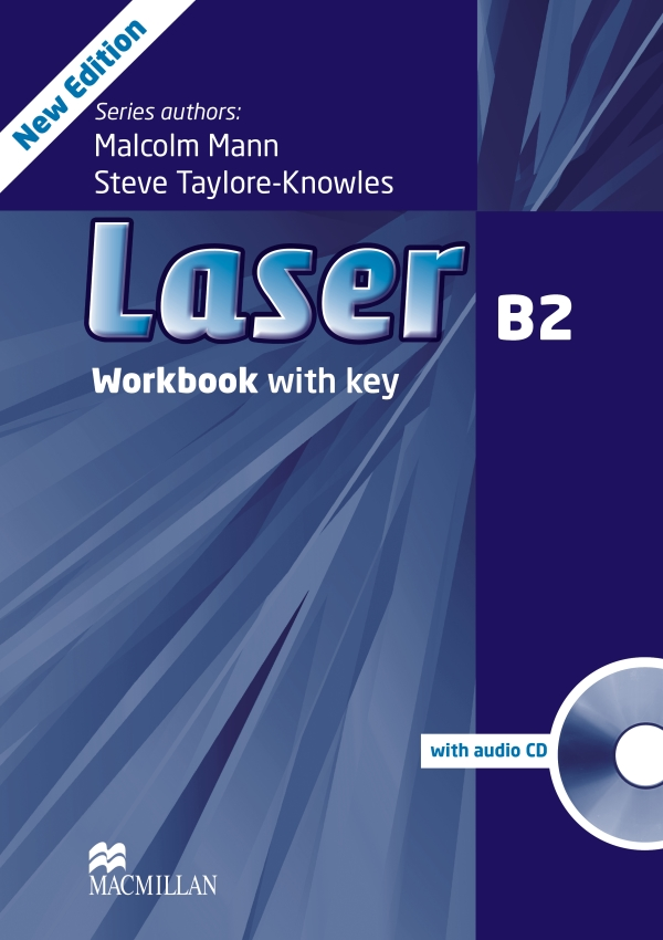 Laser 3rd Edition B2 Workbook with Key and Audio CD Pack