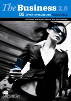 The Business 2.0 Upper-Intermediate B2 Student's Book