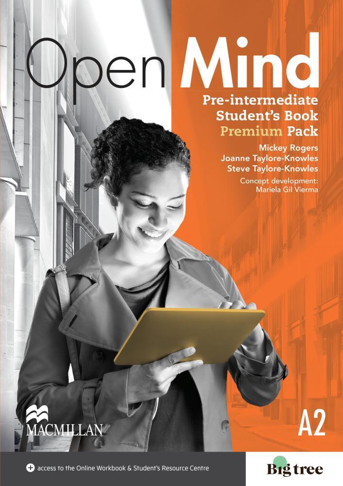 Open Mind Pre-Intermediate Student's Book Premium Pack