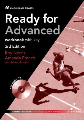 Ready for Advanced 3rd Edition Workbook with Key and Audio CD Pack