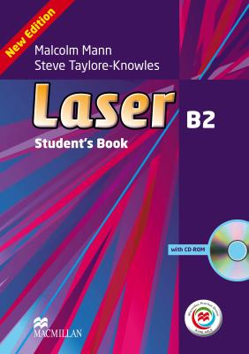Laser 3rd Edition B2 Student's Book with CD-ROM and Macmillan Practice Online Pack