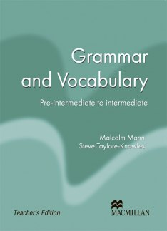 Macmillan Exam Skills for Russia Grammar and Vocabulary Pre-Intermediate to Intermediate Teacher's Book Old Edition