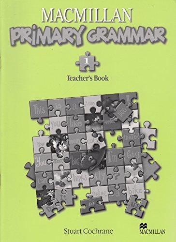 Macmillan Primary Grammar Level 1 Teacher's book