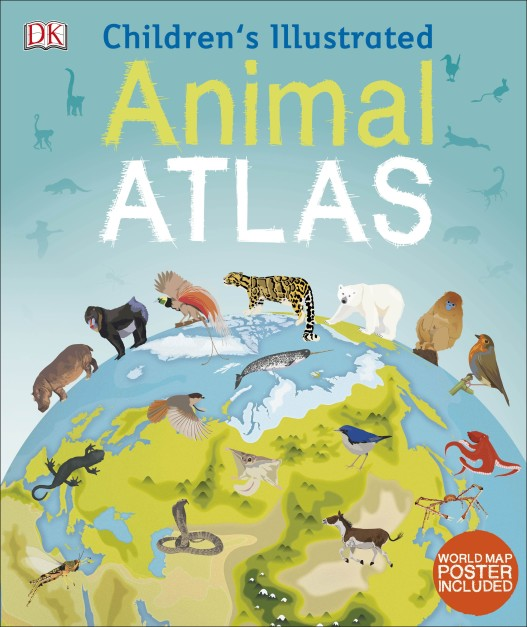 Children's Illustrated Animal Atlas  (HB)