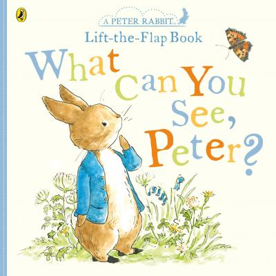 What Can You See Peter? Very Big Lift the Flap board book
