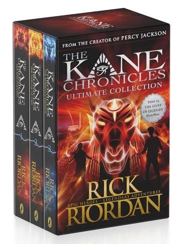 Kane Chronicles, the (3-book box set)