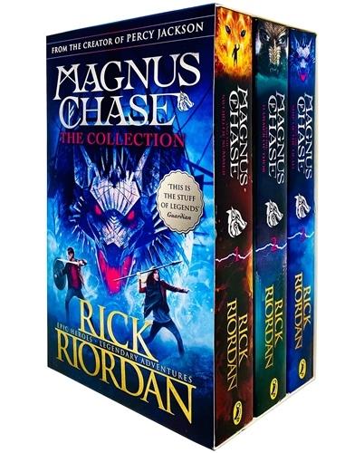 Magnus Chase and the Gods of Asgard (3-book box set)