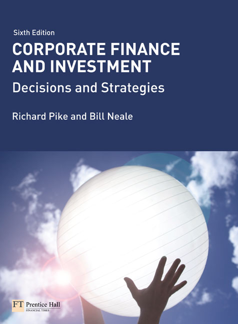 Corporate Finance and Investment: Decisions & Strategies