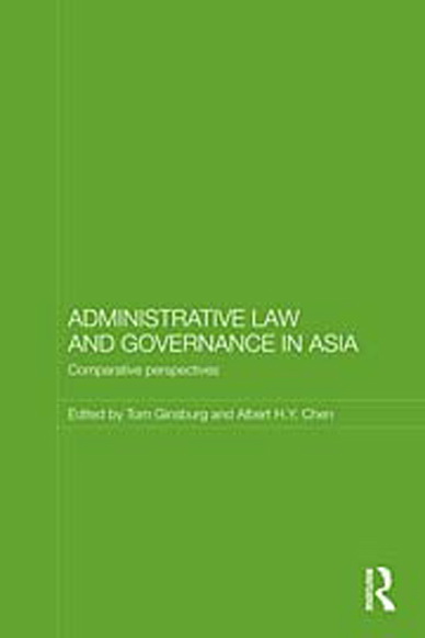 Administrative Law and Governance in Asia