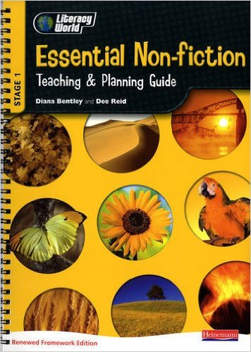 Literacy World Stage 1 Essential Non-Fiction Teaching & Plan