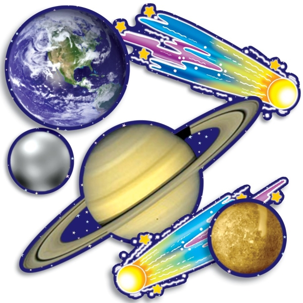 Accent Punch-Outs Solar System  (93 pieces)