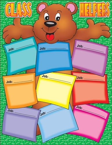 Bear Helper Friendly Class Chart