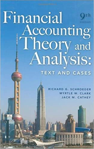 Accounting Theory 9 Еdition