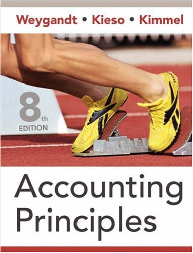 Accounting Principles, 8 Edition