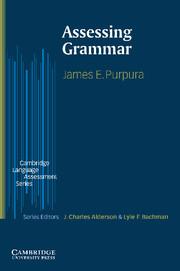 Assessing Grammar Paperback