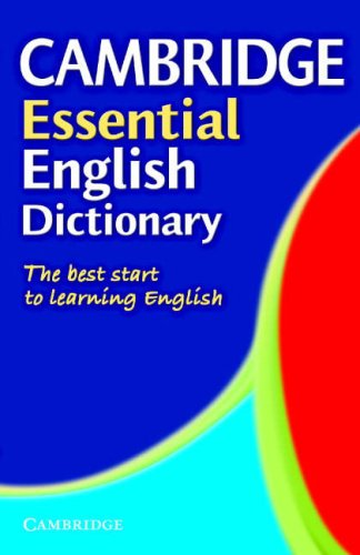 Cambridge Essential English Dictionary Paperback