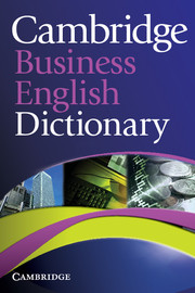 Cambridge Business English Dictionary