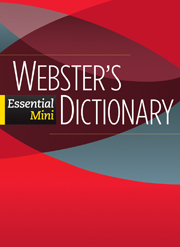 Webster's Essential Mini Dictionary Paperback