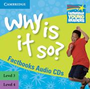 Why is it so? Levels 3-4 Factbook Audio CD