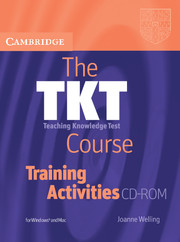 TKT Course, The  Level 1 Training Activities CD-ROM