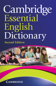 Cambridge Essential English Dictionary 2 Edition Paperback