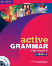 Active Grammar 1 Book no answers +CDROM