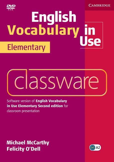 English Vocabulary in Use Elementary 2 Edition Classware DVDROM
