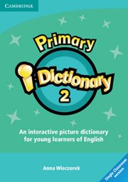 Primary i-Dict 2 Low Elementary CD-ROM (Single classroom)