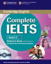 Complete IELTS Bands 4-5 SB +ans +R #дата изд.15.03.12# ***