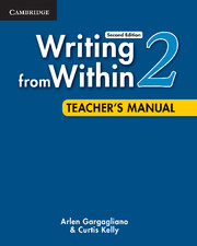 Writing from Within 2Ed 2 Teacher's Manual