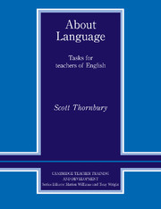 About Language Paperback