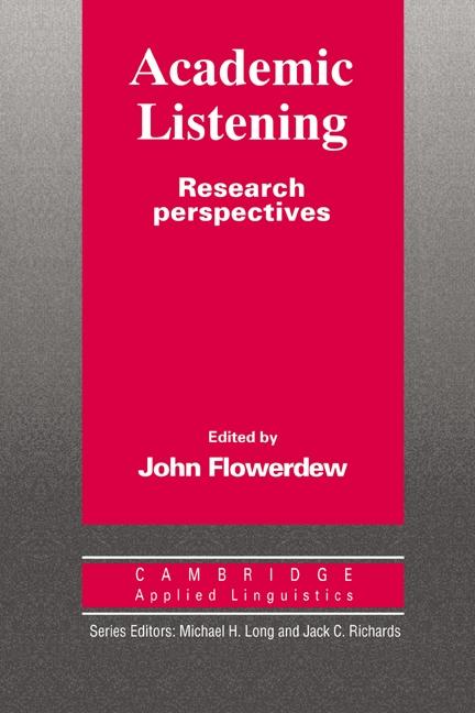 Academic Listening Paperback