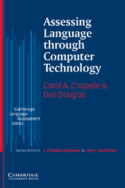 Assessing Language through Computer Technology Paperback