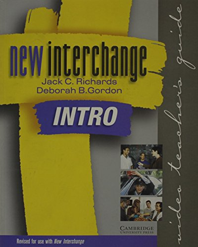 New Interchange Intro Video Teacher's Guide